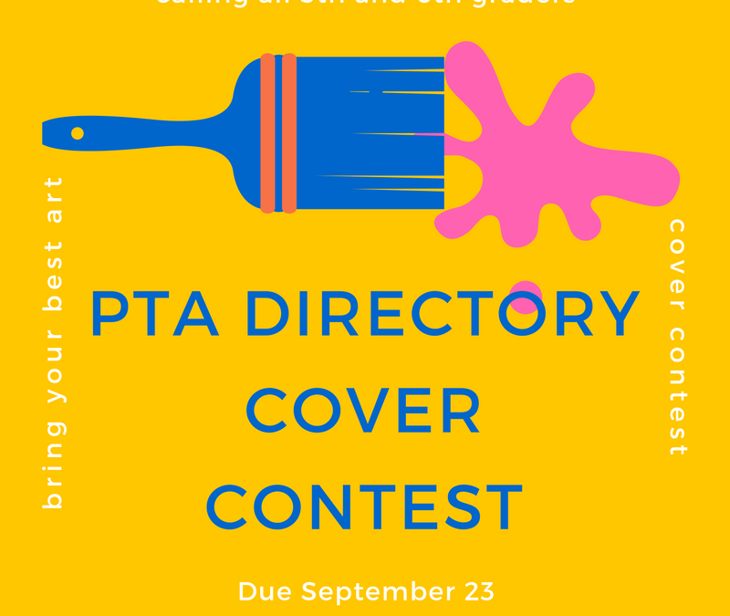 PTA Directory Cover Competition